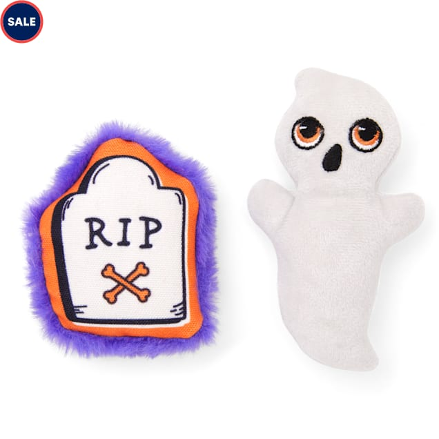 Bootique Graveyard Mosh Pit Plush Dog Toys, X-Small, Pack of 2 - Carousel image #1