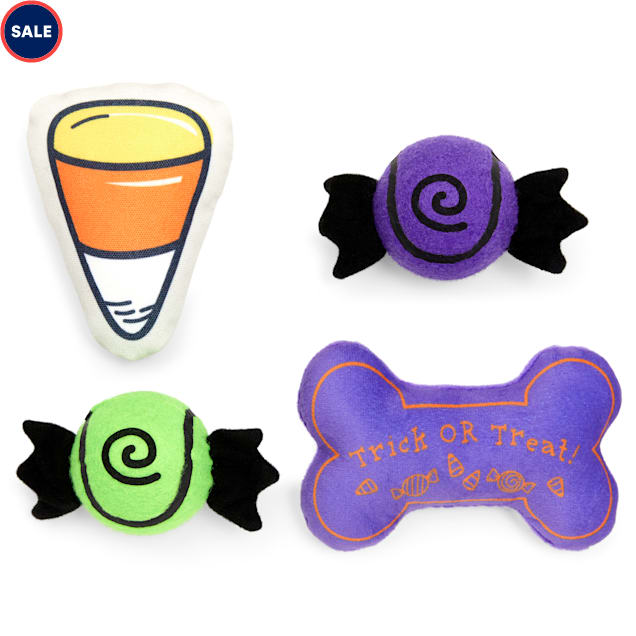 Bootique Spooky & Kooky Dog Toy Multipack for Small Dogs, Small - Carousel image #1