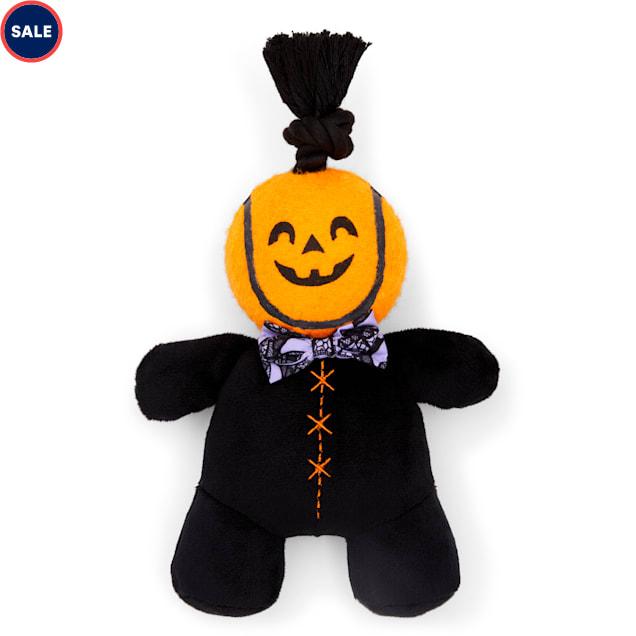 Bootique Pumpkin Bumpkin Plush & Rope Dog Toy, Medium - Carousel image #1