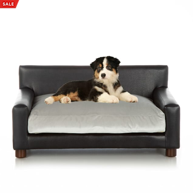"Club Nine Pets Silver Metro Orthopedic Dog Bed, 40"" L X 24"" W - Carousel image #1"