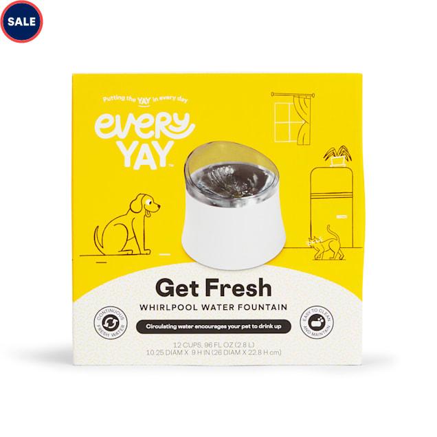 EveryYay Get Fresh Whirlpool Water Fountain, 128 fl. oz. - Carousel image #1