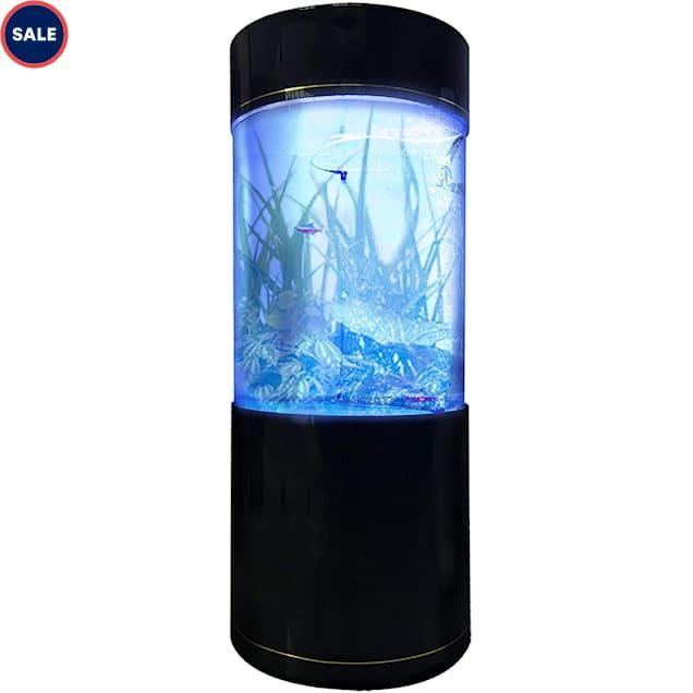 "Penn Plax 53 Gallons Cylinder Acrylic Aquarium Tank, 24.25"" L X 24.25"" W X 59.8"" H - Carousel image #1"