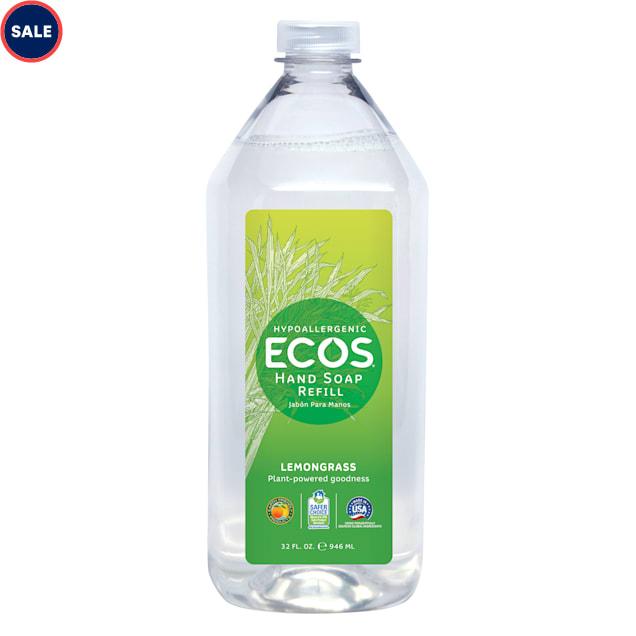 ECOS Hypoallergenic Lemongrass Scented Refill Hand Soap, 32 fl. oz. - Carousel image #1