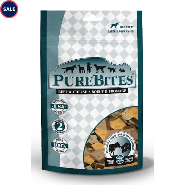 Purebites Beef & Cheese Dog Treats, 4.2 oz. - Carousel image #1