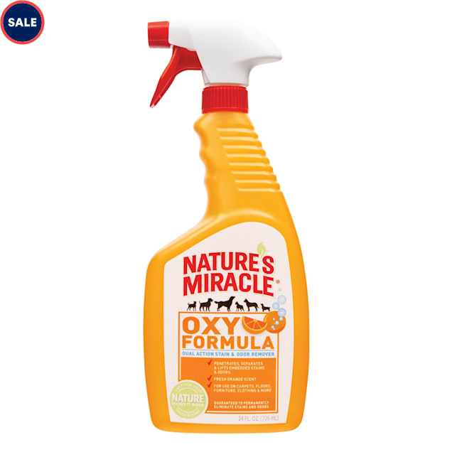 Nature's Miracle Orange-Oxy Power Stain and Odor Remover, 24 oz. - Carousel image #1
