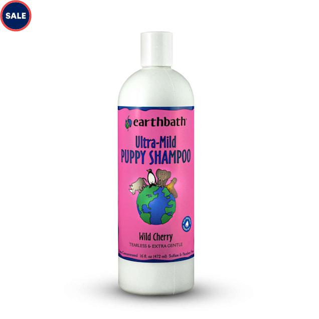 Earthbath Ultra-Mild Wild Cherry Puppy Shampoo, 16 fl. oz. - Carousel image #1