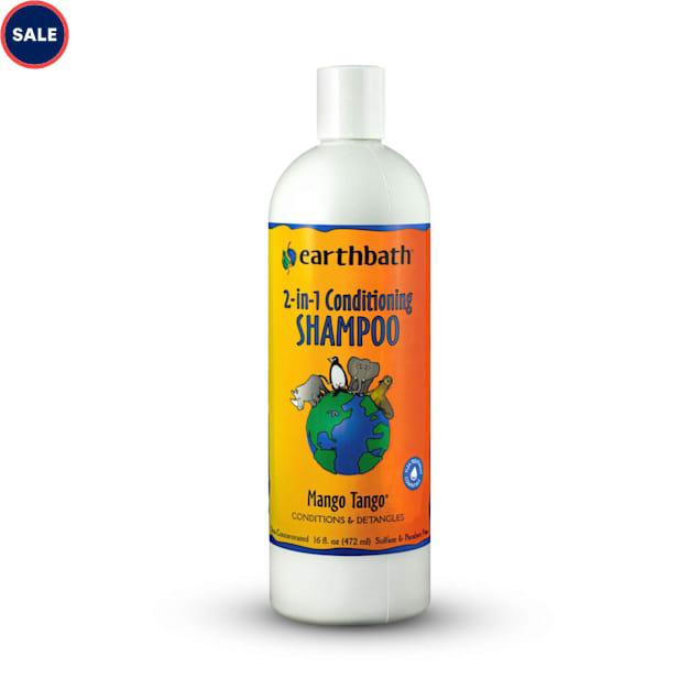 Earthbath Mango Tango 2-in-1 Conditioning Pet Shampoo, 16 fl. oz. - Carousel image #1