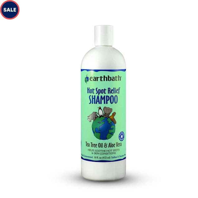 Earthbath Tea Tree Oil & Aloe Vera Pet Shampoo, 16 fl. oz. - Carousel image #1