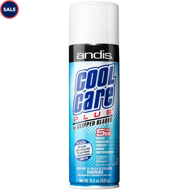 Andis Cool Care Plus Clipper Blade Cleaner, 15.5 oz. - Carousel image #1