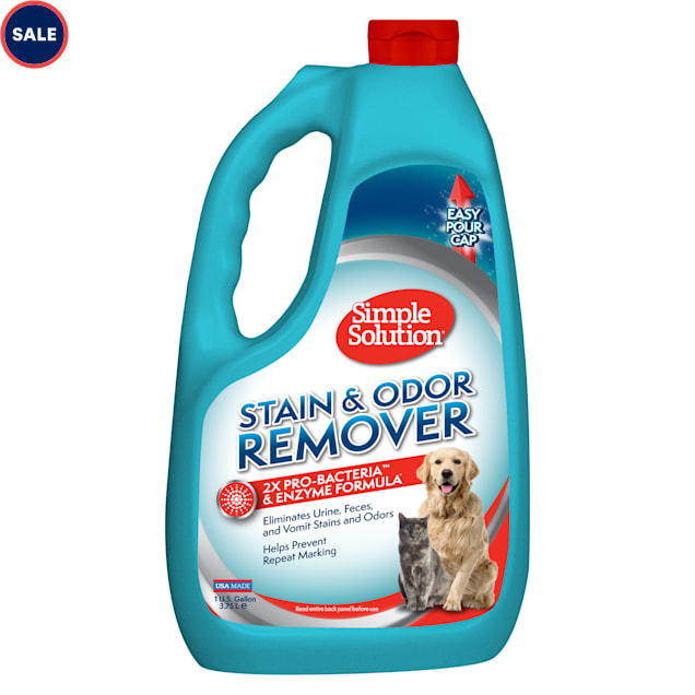 Simple Solution Stain and Odor Remover for Pets, 1 Gallon - Carousel image #1