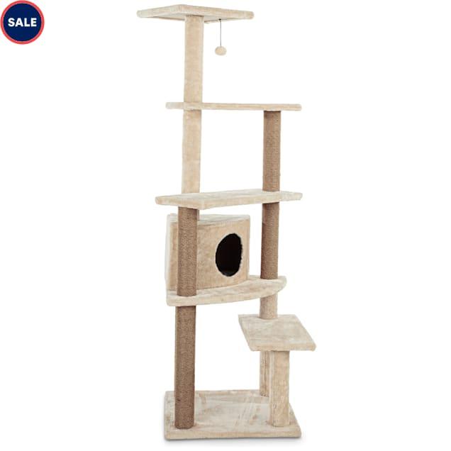 Animaze 5 Level Cat Tree With Condo 25 3 L X 23 8 W X 63 H Petco