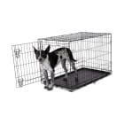 Animaze 1-Door Folding Dog Crate, 36.5