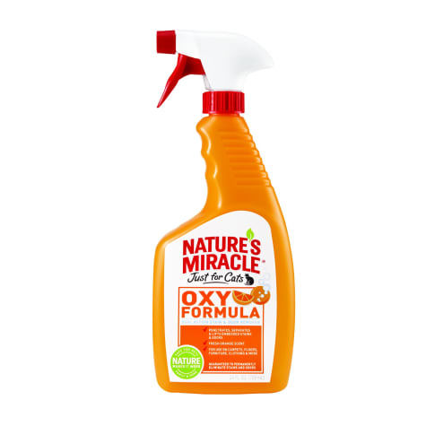Nature's Miracle Orange-Oxy Power Just for Cats Stain & Odor Remover
