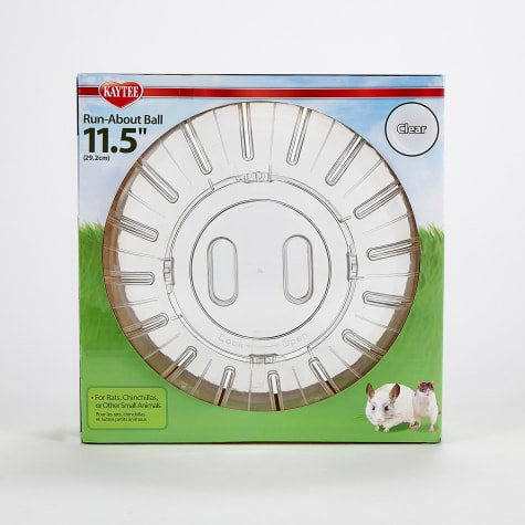 Kaytee Clear Giant Run-About Exercise Ball for Small Animals