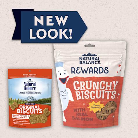 Natural Balance L.I.T. Limited Ingredient Treats Sweet Potato & Fish Formula Dog Treats