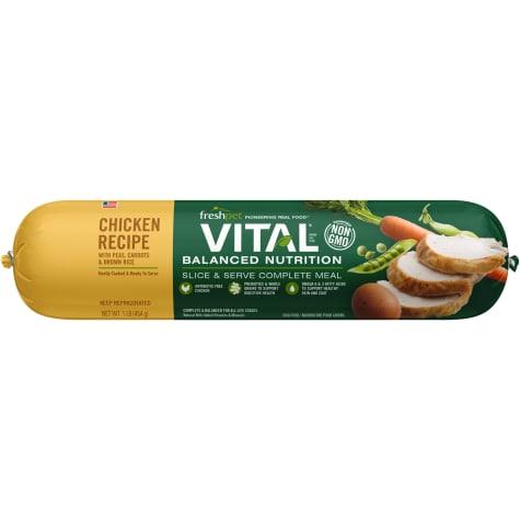 Freshpet Vital Balanced Nutrition Chicken and Whole Grain Fresh Dog Food