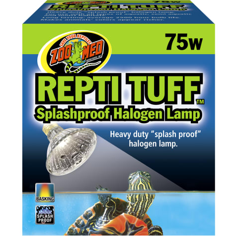 Zoo Med Turtle Tuff Splashproof Halogen Lamp, 75 Watts