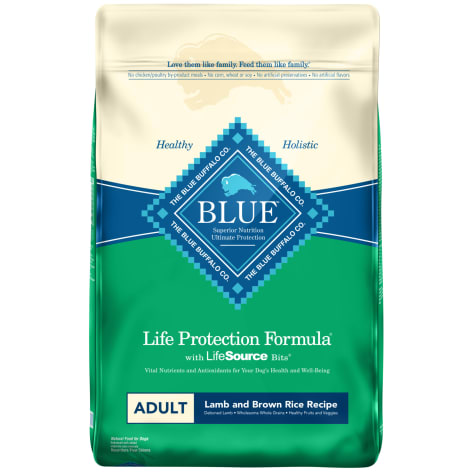 Blue Buffalo Life Protection Formula Natural Adult Lamb and Brown Rice Dry Dog Food