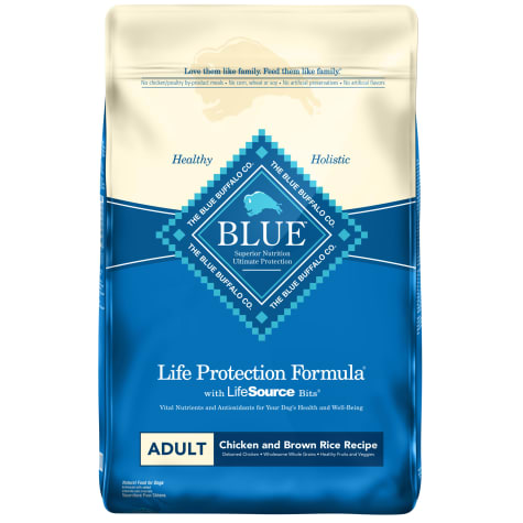 Blue Buffalo Life Protection Formula Natural Adult Chicken and Brown Rice Dry Dog Food