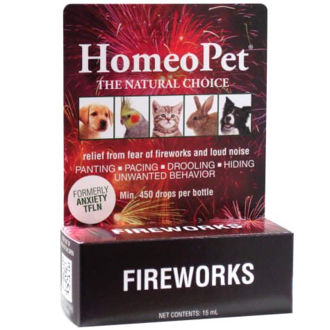 HomeoPet Fireworks Natural Homeopathic Remedy for Pets