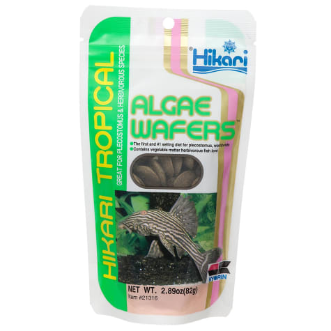 Hikari Tropical Algae Wafers for Plecostomus & Algae Eaters