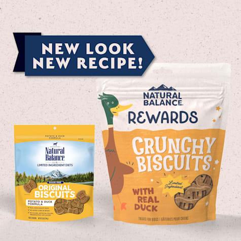 Natural Balance L.I.T. Limited Ingredient Treats Potato & Duck Formula Dog Treats