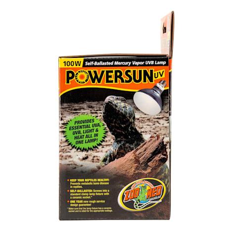 Zoo Med Powersun UV Self-Ballasted Mercury Vapor UVB Lamp