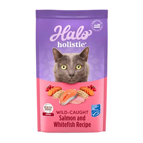 Halo Adult Holistic Wild Salmon & Whitefish Dry Cat Food
