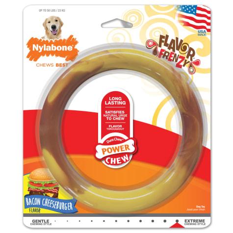 Nylabone Power Chew Smooth Ring Dog Toy