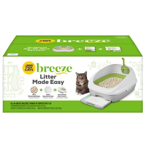 Purina Tidy Cats BREEZE System Starter Kit Cat Litter Box