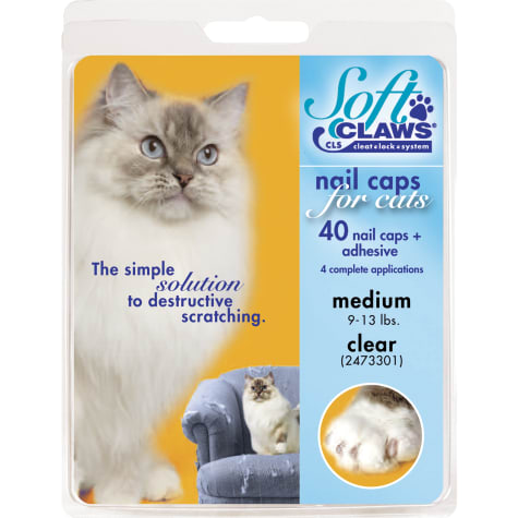 Soft Claws Clear Cat Nail Caps