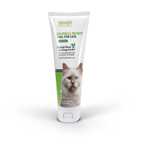 Tomlyn Laxatone Catnip Flavored Hairball Lubricant