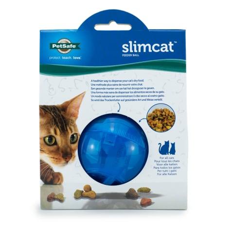 PetSafe SlimCat Cat Food Dispenser in Blue