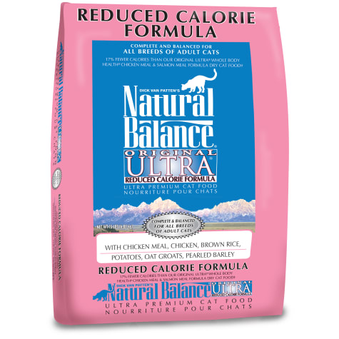 Natural Balance Original Ultra Reduced Calorie Formula Dry Cat Food