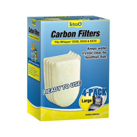 Tetra Large Replacement Carbon Filters for EX30, EX45, and EX70 Filtration Systems