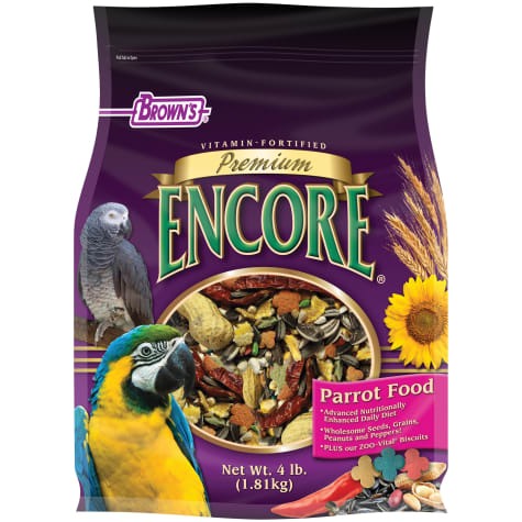 Brown's Encore Premium Parrot Food