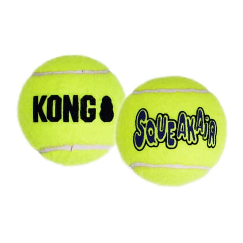 KONG SqueakAir Tennis Balls Pack of 2
