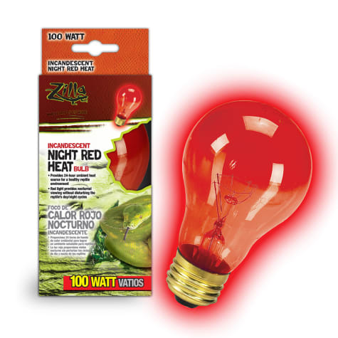 Zilla Night Red Heat Incandescent Bulb, 100 Watts