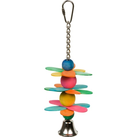 Mac's Spinner Sticks Natural Bird Toy