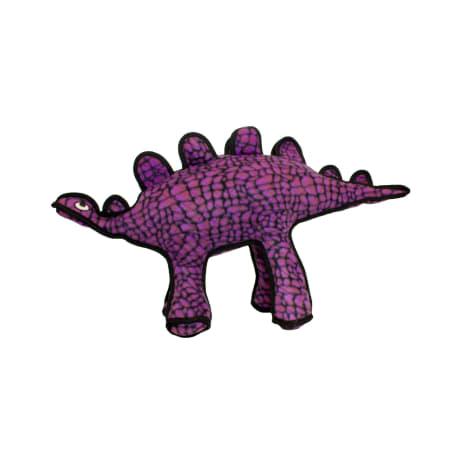Tuffy's Dinosaur Stegosaurus Dog Toy