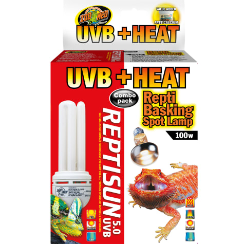 Zoo Med Heat & UVB Combo Pack