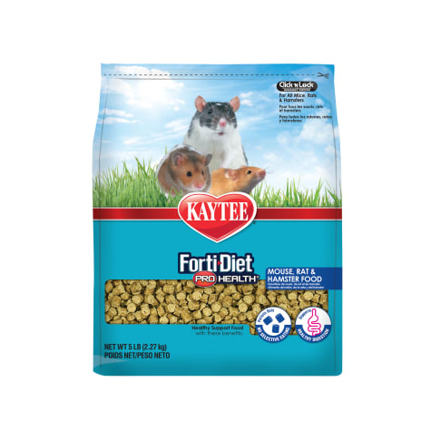 Kaytee FortiDiet ProHealth Rat/Mouse Food, 5 lbs.