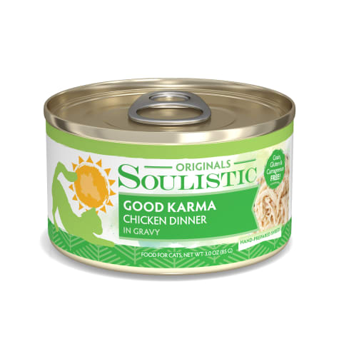 Soulistic Good Karma Chicken Dinner in Gravy Wet Cat Food