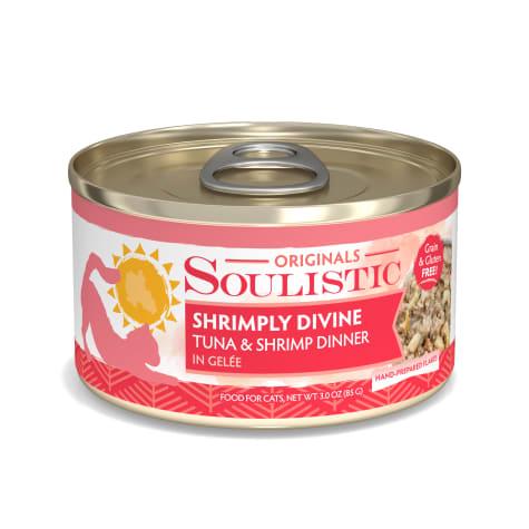 Soulistic Shrimply Divine Tuna & Shrimp Dinner in Gelee Wet Cat Food