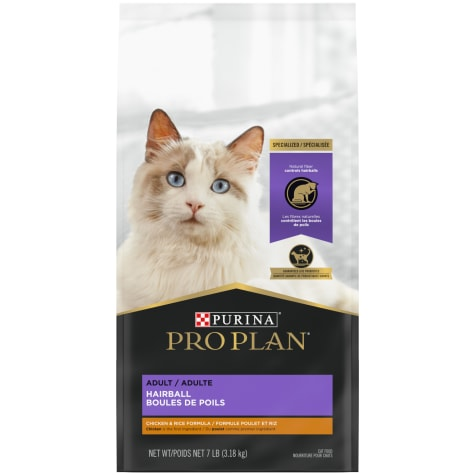 Purina Pro Plan Focus Hairball Management Chicken & Rice Formula Adult Dry Cat Food