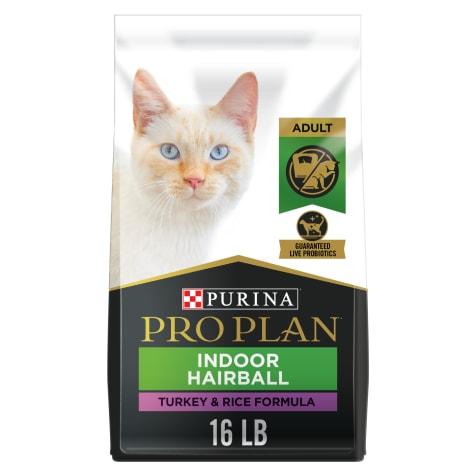 Purina Pro Plan Focus Indoor Care Turkey & Rice Formula Adult Dry Cat Food