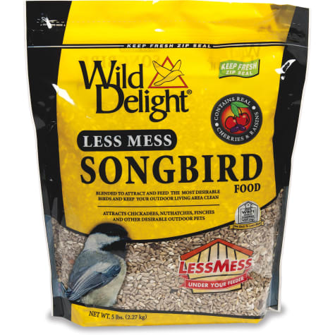 Wild Delight Less Mess Songbird Food
