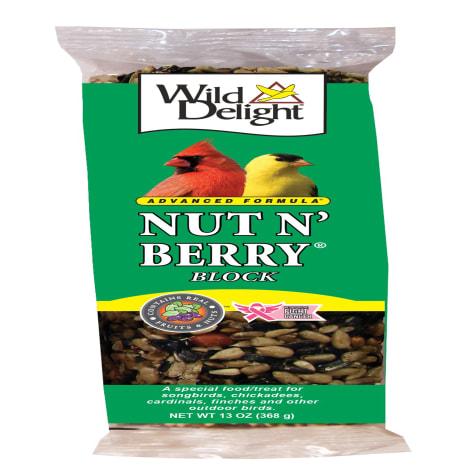 Wild Delight Nut N' Berry Food Block for Wild Birds