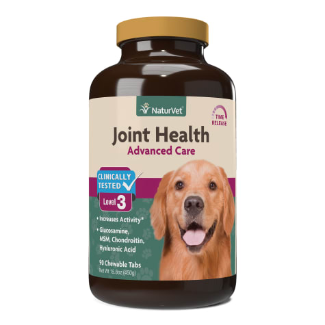 NaturVet Joint Health Time Release Level-3 Supreme Hip & Joint Supplement for Dogs
