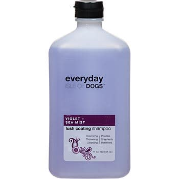Isle of Dogs Everyday Violet & Sea Mist Lush Coating Shampoo for Dogs